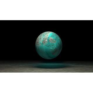 球体变形机器人3d模型