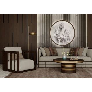 新中式组合沙发3d模型3d模型