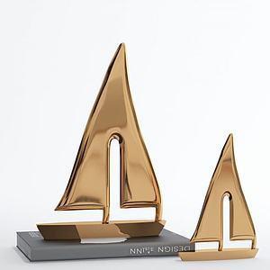3d現代陳設品擺件模型