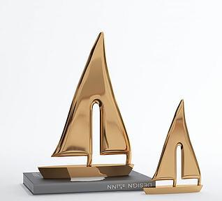 现代陈设品摆件模型3d模型