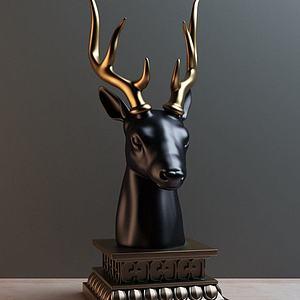 現代風格陳設飾品模型3d模型