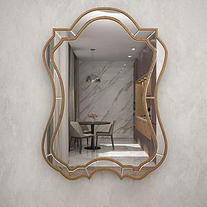 鏡子模型3d模型