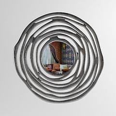 现代风格陈设饰品,镜子模型3d模型