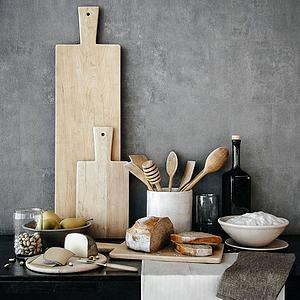 厨房装饰品模型
