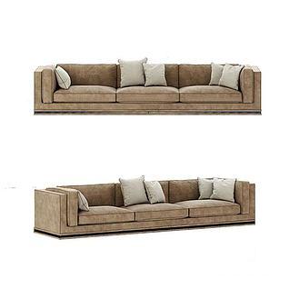 现代沙发3d模型
