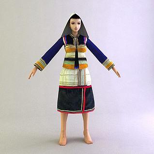 女人3d模型