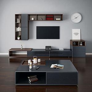 3d电视柜模型