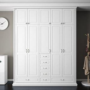 3d衣柜模型