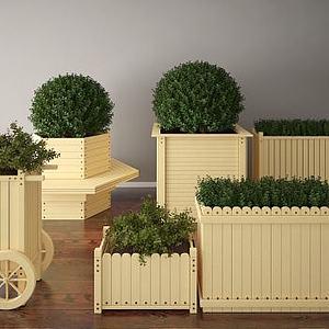 3d花壇模型