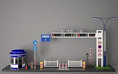 信号灯模型3d模型