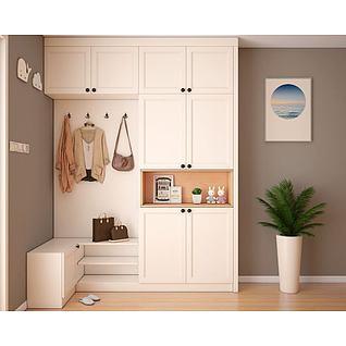 鞋柜3d模型