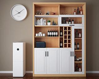酒柜模型3d模型