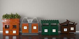 垃圾桶模型