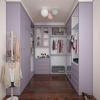 衣柜3d模型