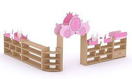 儿童组合柜3D模型