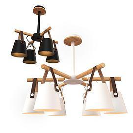 北欧现代吊灯3d模型3D模型