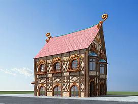 童话屋3D模型