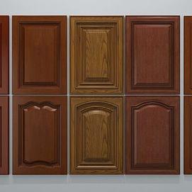 实木门板模型