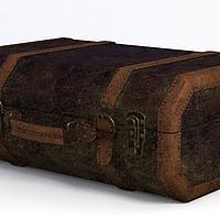 美式復古行李箱