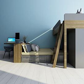 双层床模型