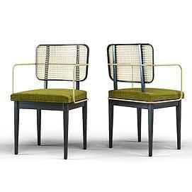 现代休闲单椅子模型