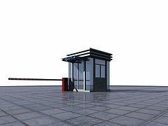 保安室模型3d模型
