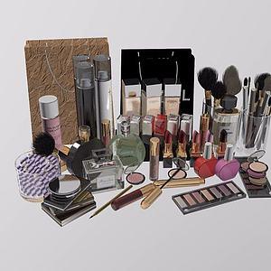 化妆品模型