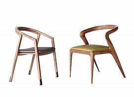 新中式单椅组合模型