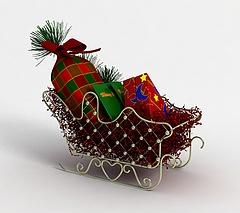 圣诞车模型3d模型