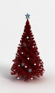 3d圣诞树模型