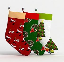 3d<font class='myIsRed'>圣诞</font>靴模型