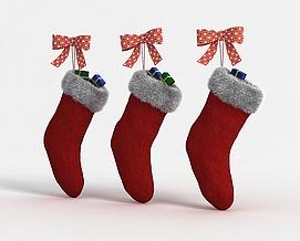 3d<font class='myIsRed'>圣诞</font>靴子模型
