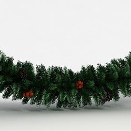 圣诞装?#38382;?#26525;模型