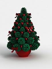 圣诞树模型3d模型