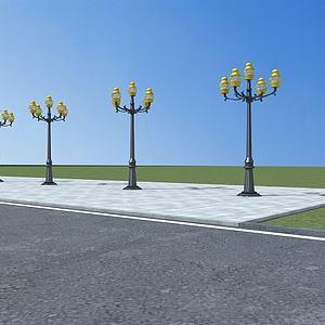 路灯模型3d模型