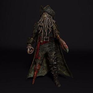 章鱼人戴维·琼斯模型