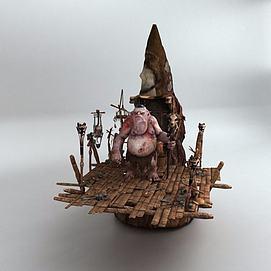 游戏怪物模型