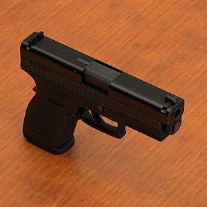 高精手枪模型