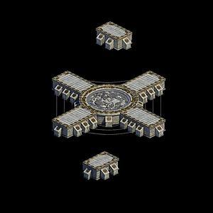 独孤剑冢宝藏密室模型3d模型