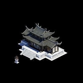 庄主建筑模型