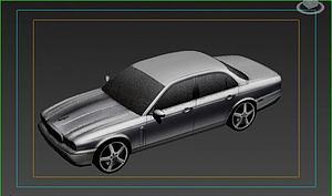 捷豹模型3d模型