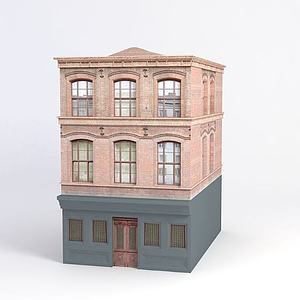 3d<font class='myIsRed'>大楼</font>模型