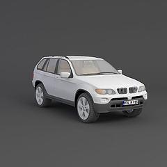 宝马模型3d模型
