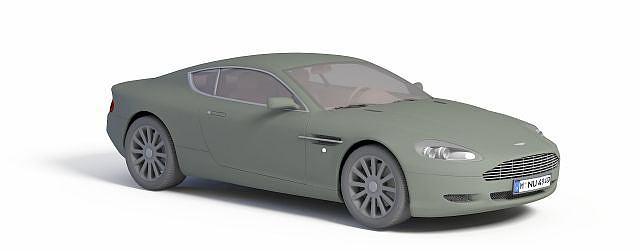 阿斯顿马丁DB9模型