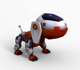 3d玩具<font class='myIsRed'>狗</font>模型