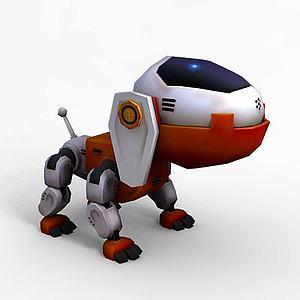玩具狗模型