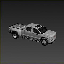 gmc汽车3D模型