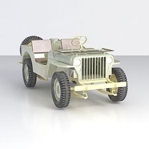 军用jeep模型