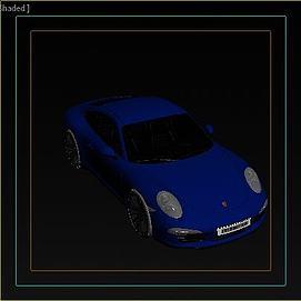 保时捷3D模型