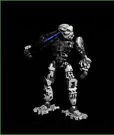 骷髅机器人3D模型